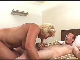 Hot mature fucks in all holes and gets cum on ass