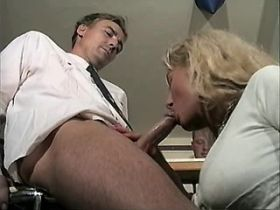 Blonde mature jums on dick and gets cumshot in mouth